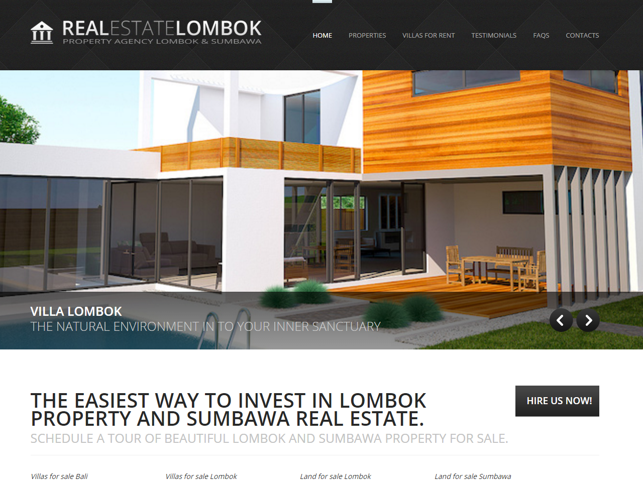 Estate Lombok Screenshot